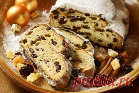 Штоллен — немецкий рождественский кекс. Два рецепта | Краше Всех