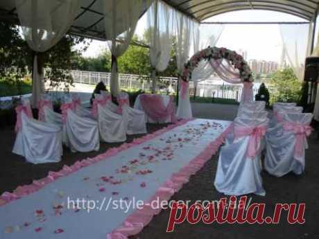 Свадебная арка, арка сваделная, выездная церемония