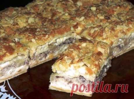 """Торт - Салат """"Наполеон"""" - Чем гостей нам удивить, чем их вкусно покормить?"""