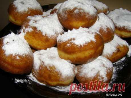 Пончики интересный рецепт с фото