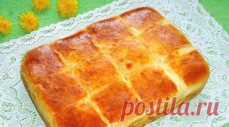 Лучшие кулинарные рецепты: Очень вкусный пирог с сыром