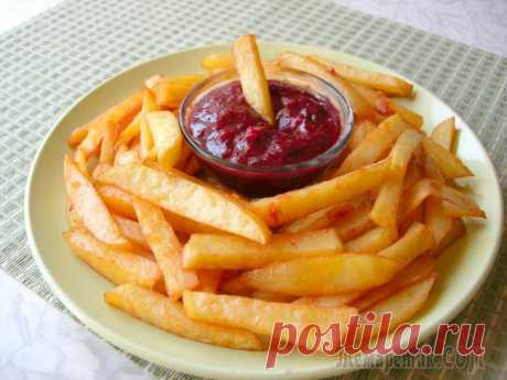 Картофель Фри в духовке вкус как в McDonald's Многие из нас любят картофель Фри, приобретенный в местах быстрого питания, несмотря на то, что он очень вреден для нашего здоровья. Я предлагаю рецепт картофеля Фри в духовке, приготовленного с миним...