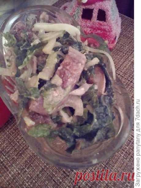 """Салат с сельдью """"Отпад"""""""