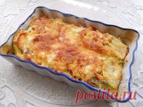 🔹Кабачки, запеченные с помидорами и сыром / Всё за еду!