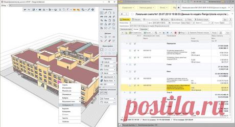 Renga – в составе комплексного решения для 3D-проектирования и подготовки сметной документации фирмы «1С»