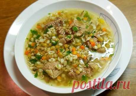 (3) Перлово-чечевичный суп в мультиварке - пошаговый рецепт с фото. Автор рецепта Marina B. . - Cookpad