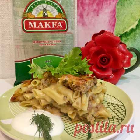 Запеканка из макарон с фаршем - Простые рецепты Овкусе.ру