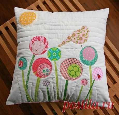 Декоративные подушки: полет фантазии безграничен — Сделай сам, идеи для творчества - DIY Ideas