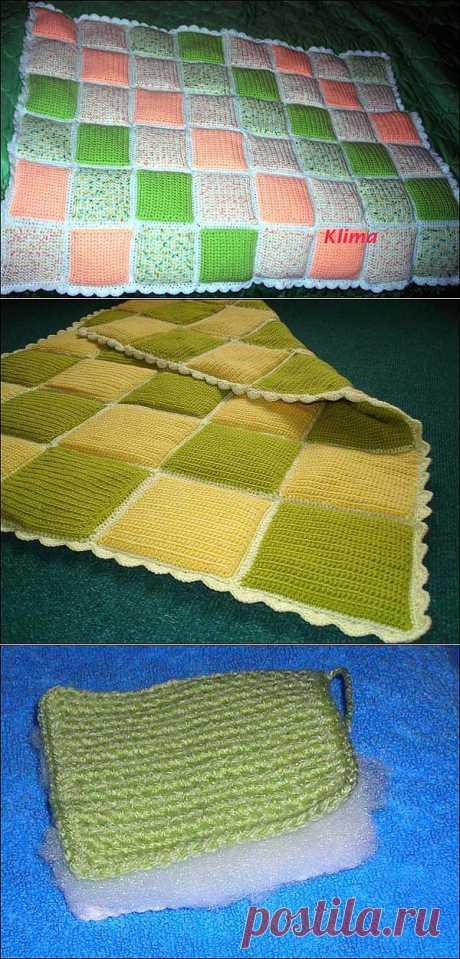 Детское одеяльце с синтепоновым наполнителем. Несложно и очень симпатично (МК от Klima).