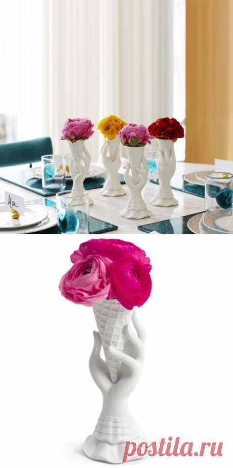 Цветочная ваза I-Scream купить, цены, отзывы, фото, видео | Goodsi.ru