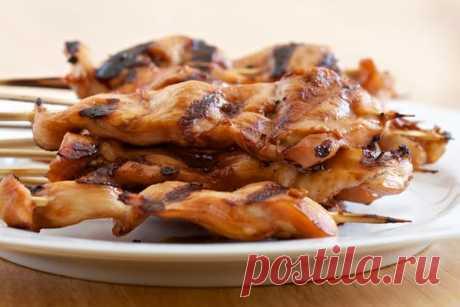 Куриный шашлык на гриле - курица тандури рецепт | Гранд кулинар