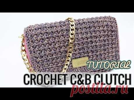 TUTORIAL CROCHET #2 | COVER CLUTCH C&B | ENGLISH SUBTITLE