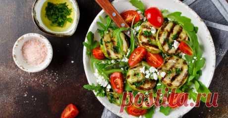 Открыла для себя салат с жареными кабачками и помидорами — вкусное блюдо, которое хочется готовить часто   sm.news