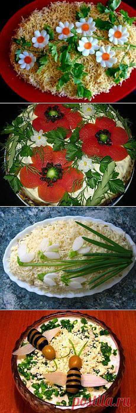 original ideas of decoration of dishes