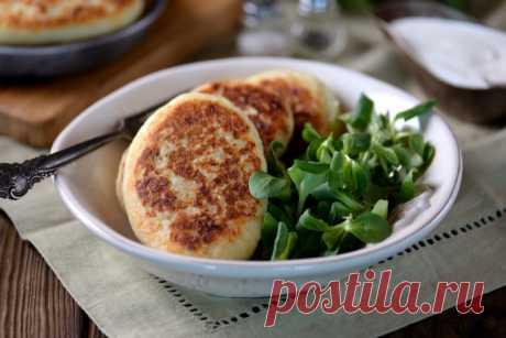 Картофельные зразы с шампиньонами — Sloosh – кулинарные рецепты