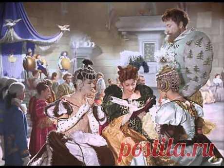 Золушка (1947) Цветная верcия, полная реставрация изображения и звука - YouTube