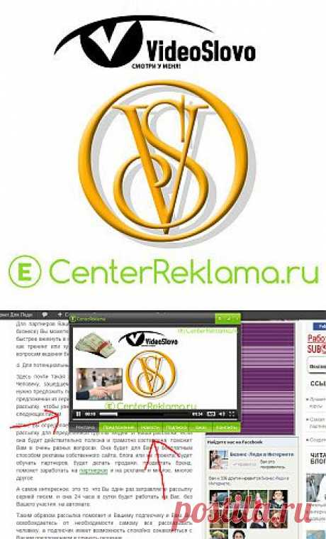 ВидеоСлово, сервис мультиформатной контекстной рекламы | Бизнес В Сети Интернет Для Леди