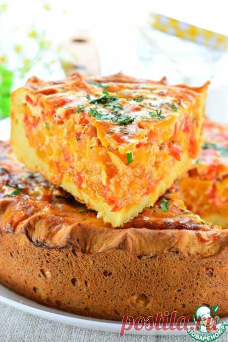 Открытый овощной пирог – кулинарный рецепт