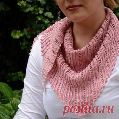 Бактус крючком, боснийское вязание