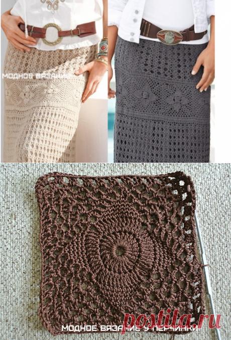 Невероятно красивая юбка в стиле бохо крючком: мастер-класс – БУДЬ В ТЕМЕ