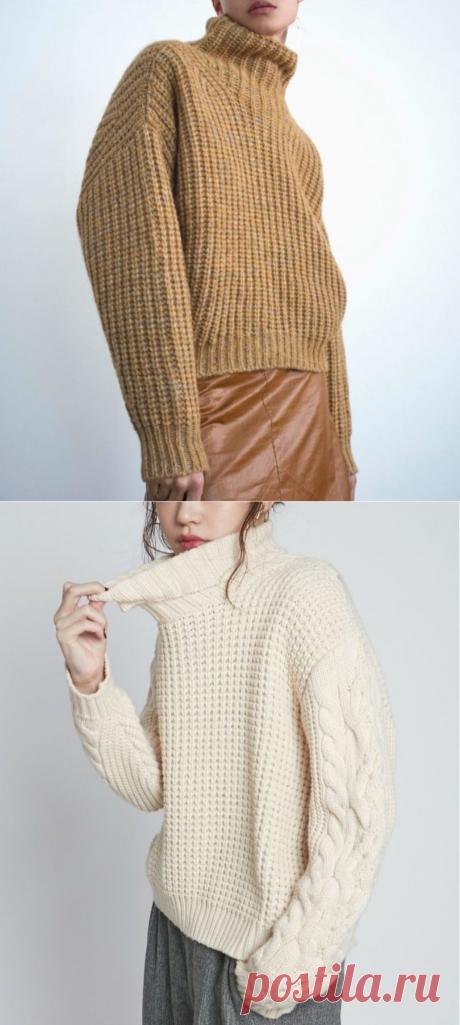 Джемперы вязаные патентными узорами спицами.. | Asha. Вязание и дизайн.🌶 | Яндекс Дзен