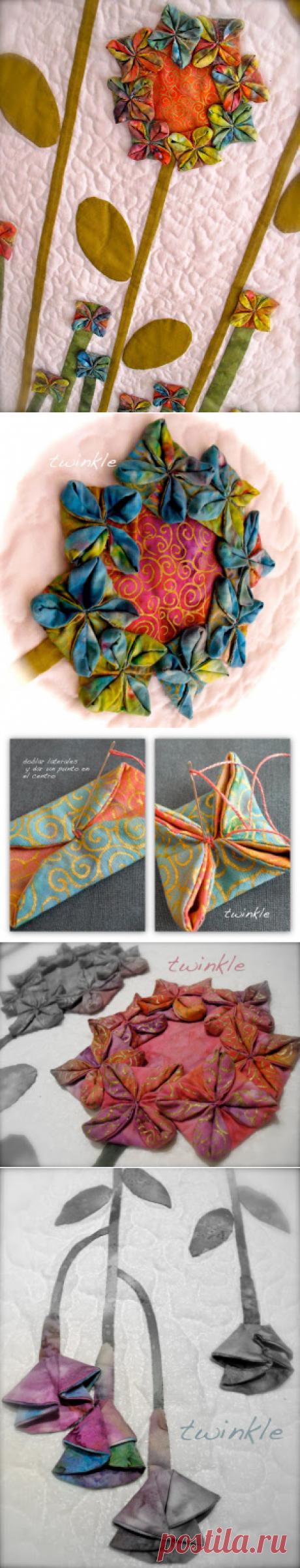 "TWINKLE PATCHWORK: Tutorial ""Origami"""