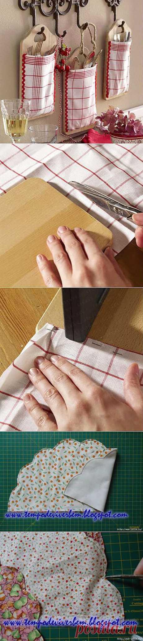 Кухонные идеи. Органайзеры для столовых приборов.