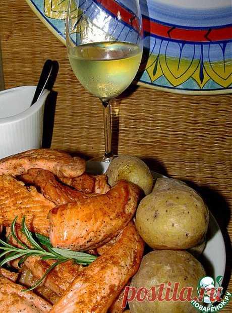 Рыба под соусом мохо - кулинарный рецепт