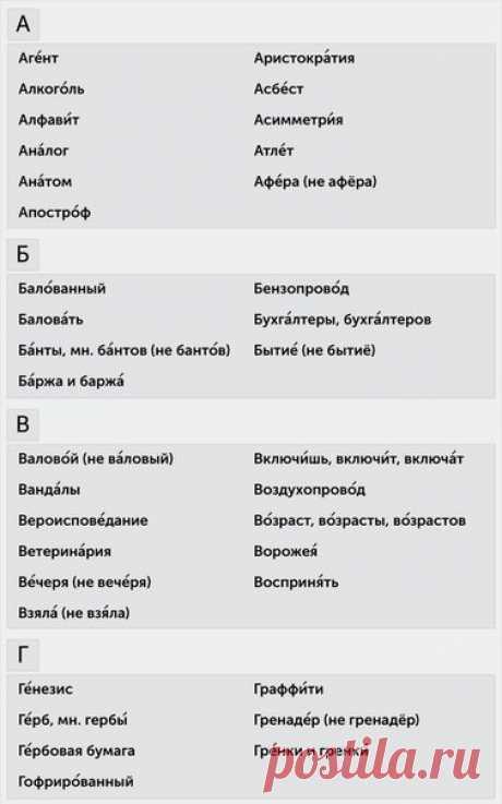 Как ставить ударение правильно и говорить действительно по-русски — Полезные советы