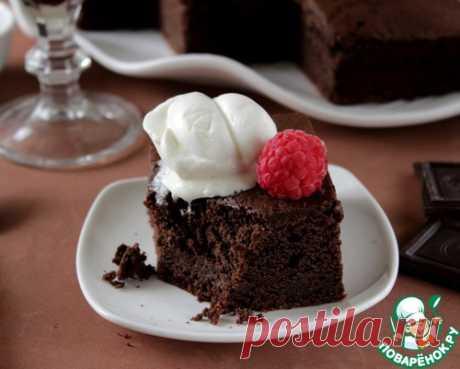 El pastel borracho de chocolate - la receta de cocina