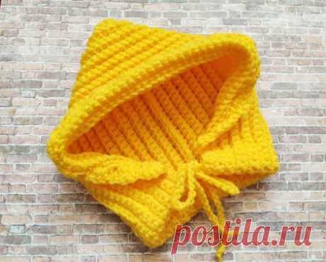 Чтобы ребенку было тепло, вяжем капор крючком » «Хомяк55» - всё о вязании спицами и крючком