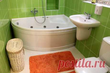 Дизайн ванной комнаты в 3 квадратных метра — Мой дом