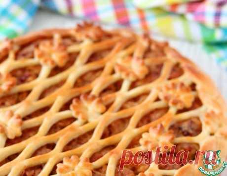 Бездрожжевой пирог с тушенкой и картофелем – кулинарный рецепт