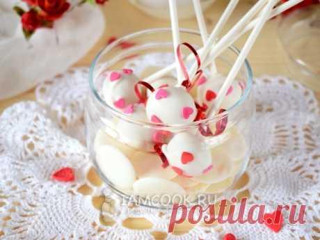 Кейк-попсы со вкусом чизкейка — рецепт с фото Домашние кейк-попсы, они же конфеты, они же маленькие тортики на палочке