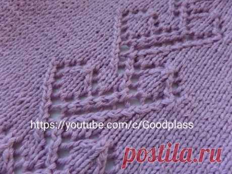 Openwork pattern for a jacket. Knitting spitsami.knitting (Hobby).