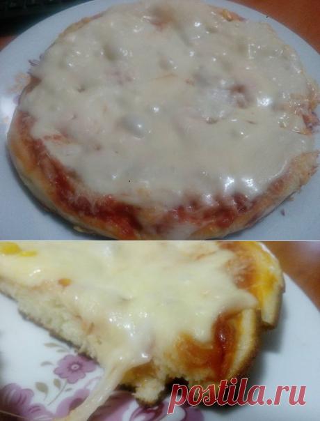 Пицца на сковороде  ГОТОВИМ БЕЗ ХНЫКОВ