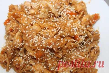 Оригинальная курица в кисло-сладком соусе «аля по-китайски»