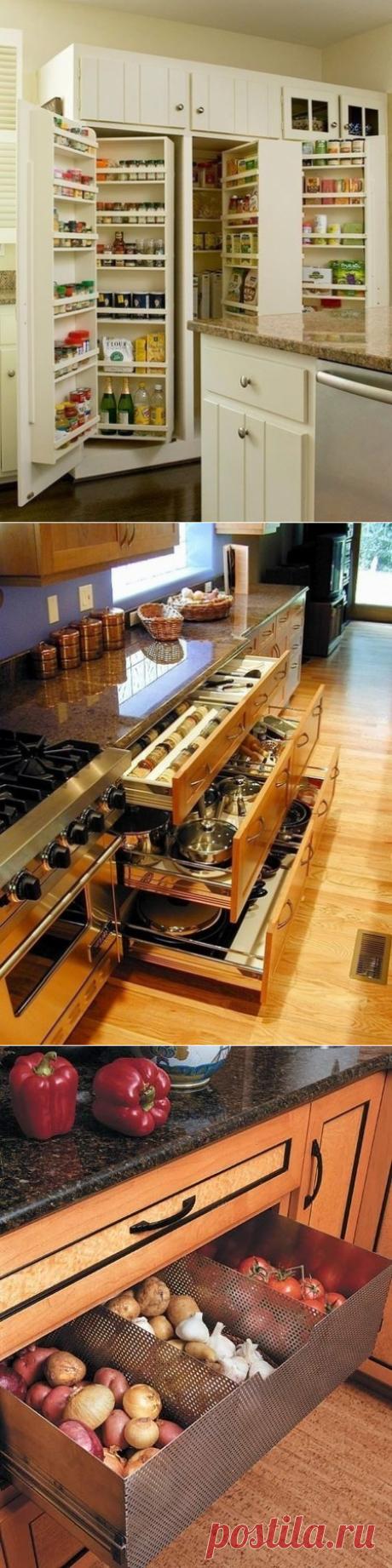 Отличный способ хранения столовых приборов, специй, пряностей, овощей и прочих предметов на кухне - Дизайн интерьеров | Идеи вашего дома | Lodgers