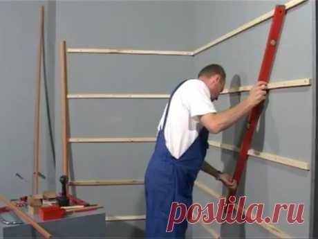 Как правильно сделать обрешетку стен под пластиковые панели? | INVANNA | Яндекс Дзен