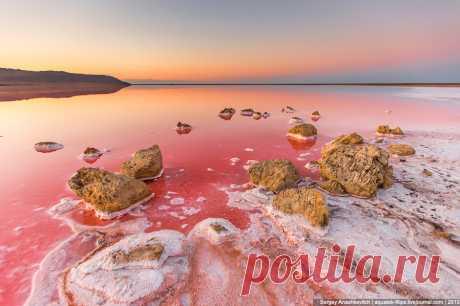 Крымские чудеса или самое соленое озеро в Крыму | Все о туризме и отдыхе