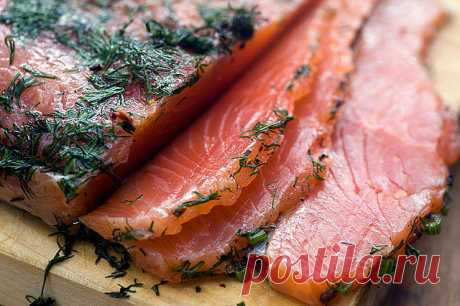 Salty red fish - the recipe \/ Simple recipes