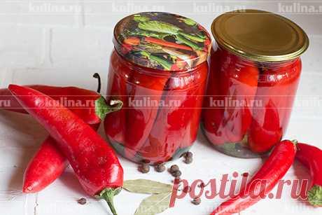 Маринованный горький перец – рецепт приготовления с фото от Kulina.Ru