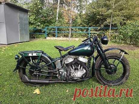 Harley-Davidson WLA 42 1944 год