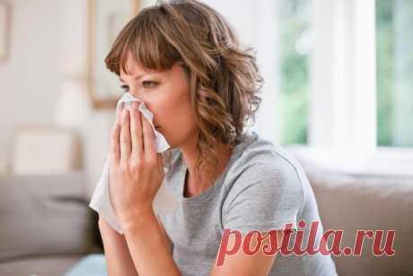 Как быстро вылечить насморк в домашних условиях: 10 способов.