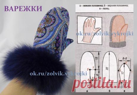 Эти симпатичные варежки можно сшить из любого меха или теплого материала: драп, сукно, кожа, фетр, замша, мутон, каракуль, норка. Для верха варежек можно использовать джинсовую ткань, вельвет или, например, бархат или велюр)))==========аксессуары=====🍀 SewingPatterns sewing выкройки выкройка шитье крой СвоимиРуками vikroyki Пошив Одежды Моделирование Одежды Конструирование Одежды ШьюСама Одежда Своими Руками лекало шью хобби style handmade шьем 🍀