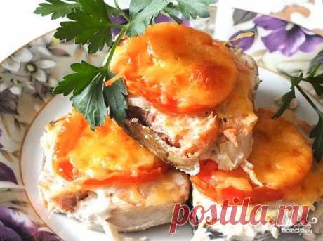 Горбуша в фольге в духовке - пошаговый рецепт с фото на Повар.ру