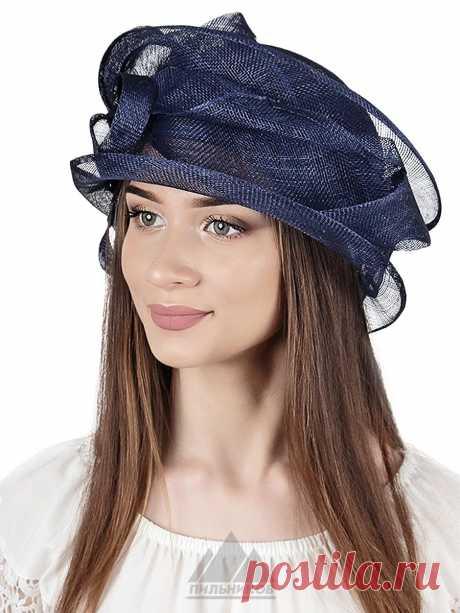Шляпа Фарида - Женские шапки - Из соломки купить по цене 3153 р. с доставкой в Интернет магазине Пильников
