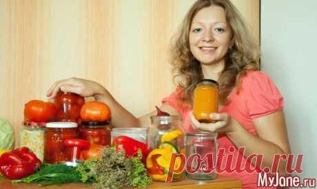 Осенние овощные заготовки - консервирование, соленья, консервированные овощи, консервы