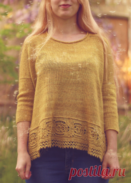 Вязаный пуловер Majula | ДОМОСЕДКА
