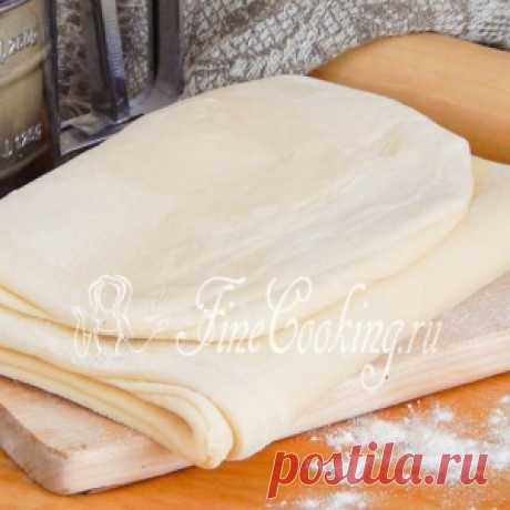 Домашнее слоеное бездрожжевое тесто - МирТесен